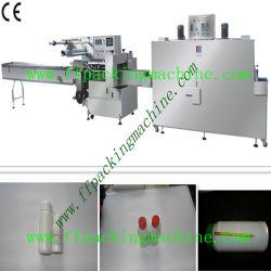 Plaguicidas y agroquímicos totalmente automática Máquina de embalaje retráctil de botella