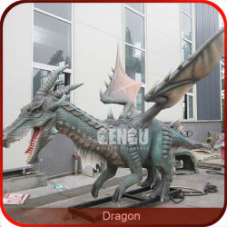 Перемещение анимации гигантские надувные дракона