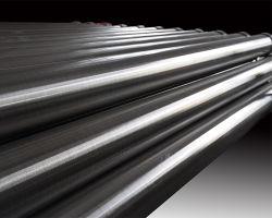Tubo de Ecrã tipo V com fenda 304 316 Grau do Tubo do ponto de fio utilizado para filtro de perfuração de poços de água