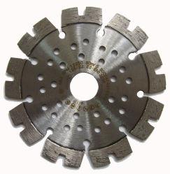 China OEM especial diseño Diamond Hoja de sierra circular de la hoja de herramientas de corte con diamante de los orificios de las hojas de sierra