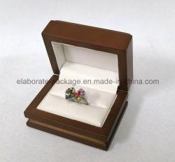 Geval van het Pakket van de Gift van de Vertoning van de Juwelen van het Leer van de douane het Houten