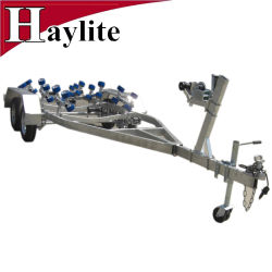 Handlier Aluminium Boottrailer Met Torsieas
