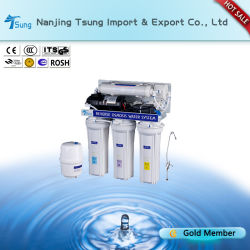 50gpd 5 fases de tratamento de água para uso doméstico Ty-RO-1