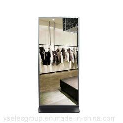 """Yashi 55"""" Interactive Smart Touch LCD Miroir magique pour la publicité"""