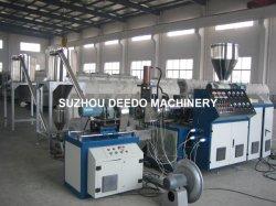 El reciclaje de plástico PVC Pelletizer máquina Línea de peletización