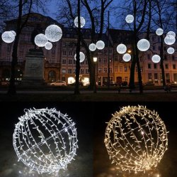 3D-шар LED Рождество декоративных мотивов лампа