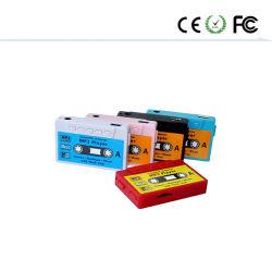 새 테이프 USB 미니 MP3 플레이어는 TF 카드를 지원합니다