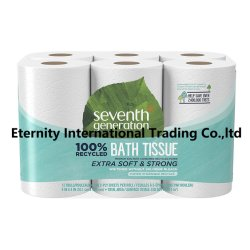 Bain de rouleau de tissu recyclé Papier toilette