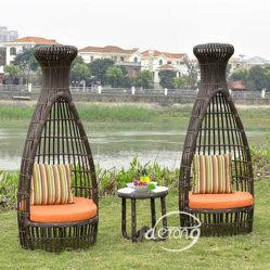 Hôtel de plein air Décoration Meubles De Patio de la forme de chaises de Bowling