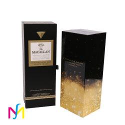 カスタムカラーによって印刷される食品等級の折るクラフトの装飾的な香水のペーパーギフト用の箱、包装のディスプレイ・ケース、タバコのワイン・ボトルの記憶の荷箱