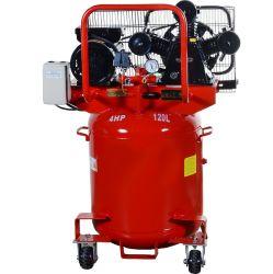 4HP de verticale Compressor van de Lucht van de Zuiger van de Tank 8bar