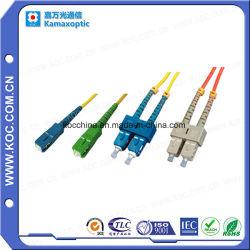 Оптоволоконный кабель питания исправлений для Sc Sm LSZH