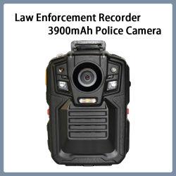 法の執行のレコーダー3MPのビデオIP68手段の警察ボディカメラ