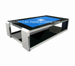 55pouces à écran tactile Ad Player Talbe intégrée pour le café de la machine