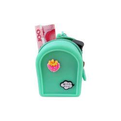 Цветные женщины силиконового герметика Wallet небольшой монеты кошелек для поощрения