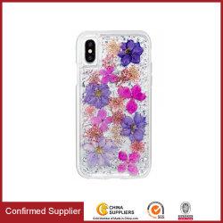 """Handy-Taschen mit """"Girly""""-Logo für echte Blumen Eye-Catching iPhone Xs/Xr/Xs Max Telefontasche"""