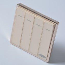 Mejor diseño decorativo Interruptor de luz de interruptor de pared interruptor eléctrico
