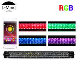Светодиодной подсветки RGB бар с логотипом, флэш-Многоцветный светодиодный индикатор бар для ATV, кроссовер, UTV, 4WD, Jeep