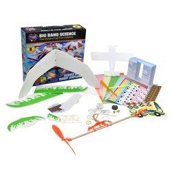 Wetenschap van het Stuk speelgoed van het Vliegtuig van het Stuk speelgoed DIY van de Wetenschap van het Vliegtuig van de Vlucht