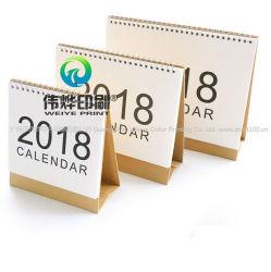2019 Bureau de vente en gros unique papier d'impression bon marché Calendrier personnalisé