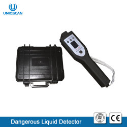 Uniqscan 안전을%s 휴대용 빠른 검사 3.7V 23mA 소형 병 액체 검출기