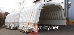 Salle de Chill gonflable mobile magasin de stockage en congélateur gonflable à froid