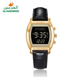 熱い販売新しいデザインビジネスイスラム教のAlFajrのAzanの腕時計Ha6260のイスラム教の腕時計