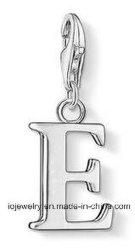 De aço inoxidável 316 Charme letra do alfabeto e