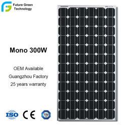 لوحة شمسية بقدرة 300 واط 36 فولت 72 قطعة من الخلايا الضوئية