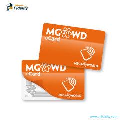 쉬운 공장 공급 RFID Hf 13.56MHz NFC 카드를 전송하십시오