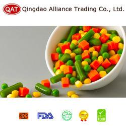 Mélange de légumes surgelés à la carotte de haricots verts mélange de maïs doux printemps mélangé