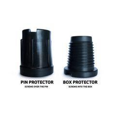 Пластиковые трубы сверла для защиты резьбы