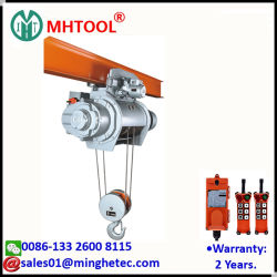 Mhtool 5t электрический провод троса лебедки с одинарной рейкой электрический передвижной кран монорельсового поезда производителя