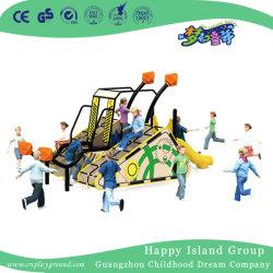 Preço baixo PE Board Parque Infantil Equipamentos para jardim (HJ-17501)