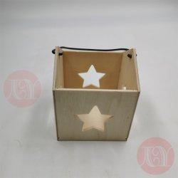 Cesta de madeira de decoração/artesanato com design especial