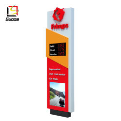 Оборудование станции рекламы пайлон знак для АЗС