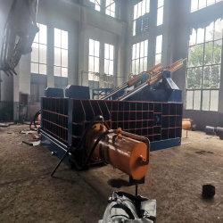 Hydraulische Ballenpresse in Stahlwerken Recycling-Anlagen Pressen angewendet Metallschrott