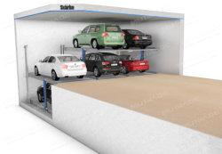 Dois Pit Post do sistema de auxílio ao estacionamento pilha independente Parkers