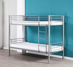 Dormitorio de la escuela de metal doble litera acero camas almacenamiento