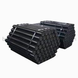 Стальные вальцы для переноски для равного Troughing промежуточной рулонов с тремя ту же длину роликов для металлургии транспортного оборудования