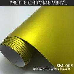 Лучшие товары Annhao воздух матовый хром металлический корпус виниловая автомобильная наклейка устройства обвязки сеткой