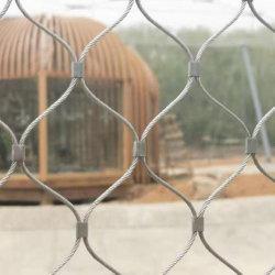 Corda de fio de aço inoxidável de malha de segurança para cerca de Jardim