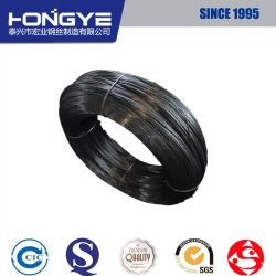 中型の高炭素の黒い円形のカスタムコイルばねの鋼線