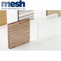 Tissu à mailles métalliques pour le verre laminé