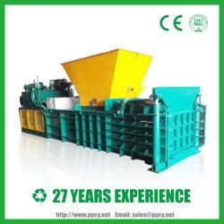 L'horizontale Semi-automatique de la mise en balles d'OCC Corrugate carton en appuyant sur la ramasseuse-presse