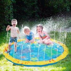 비말 실행 매트는 패드 아이들을%s 옥외 당 물뿌리개 장난감 유아 물 장난감 여름 재미를 2명의 3명의 4명의 5명의 6 살 소년 및 소녀 아이 뿌린다