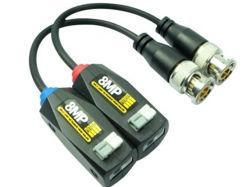Aislador de bucle de tierra video evita la distorsión de la señal de vídeo BNC para Video Converter.
