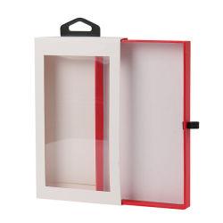 صنع وفقا لطلب الزّبون تصميم بالتفصيل ساحب ينزلق [موبيل فون] حالة يعبّئ صندوق مع واضحة [بت/بفك] نافذة