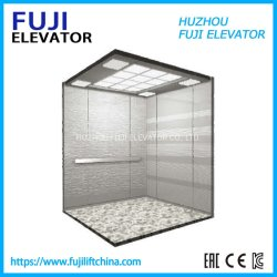 FUJI Vvvf 0.4m/S Home Elevator Cheap Small Sightseeing Villa Passenger Elevator Lift Panoramic 또는 Observation Glass Elevator