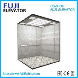 FUJI Vvvf 0,4 m/s Home ascensor barata pequeña Villa Excursión Panorámica Elevador de pasajeros/observación ascensor de cristal